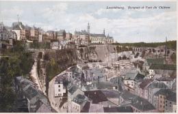 Luxembourg.  Rempart Et Pont Du Château. - Luxembourg - Ville