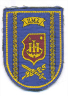 CROATIA ARMY - HV / COMMAND POST ZAGREB - ZMZ ZAGREB, Rare Sleeve Patch - Patches