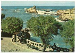 CP, 64, BIARRITZ, Un Coin Du Vieux Port, Le Rocher De La Vierge, Vierge - Biarritz