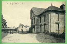 60 ERAGNY - La Gare - Autres Communes
