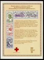 """DENMARK (Grønland) THULE 1979 - MAXIBLATT """"MINDEARK"""" / Red Cross - Minisheet (numbered) 5v Mi 1-5 MNH ** Issued 6.6.1935 - Blocchi & Foglietti"""