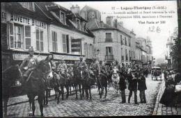 77 - LAGNY-THORIGNY - LE ... HUSSARD ACCLAME ET FLEURI... - Lagny Sur Marne