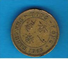 HONG KONG - 10 Cents 1965  KM28 - Hong Kong