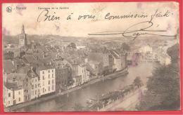CARTOLINA VIAGGIATA BELGIO - NAMUR - Panorama De La Sambre - 9 X 14 Cm - ANNULLO 01 - 02 - 1918 - Namur