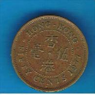 HONG KONG - 50 Cents 1977   KM41 - Hong Kong