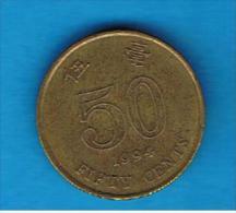 HONG KONG - 50 Cents 1994   KM68 - Hong Kong
