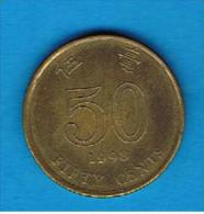 HONG KONG - 50 Cents 1998   KM68 - Hong Kong