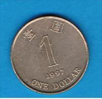 HONG KONG - 1 Dolar 1997  KM69 - Hong Kong