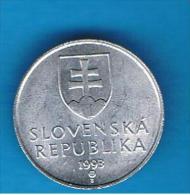 ESLOVAQUIA - 20 Haliers 1993  KM18 - Eslovaquia