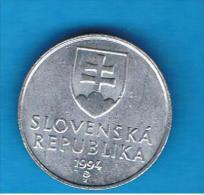 ESLOVAQUIA - 20 Haliers 1994  KM18 - Eslovaquia