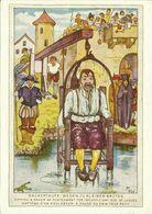 Postkarte Strafe Mittelalter Bäckertaufe Color  ~1960 #39 - Gefängnis & Insassen
