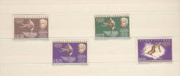 Paraguay, 4 Stamps, Pierre De Coubertin, Olympics - Zomer 1964: Tokyo