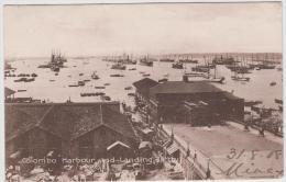 AK - Ceylon (Sri Lanka) Colombo Hafen 1908 - Sri Lanka (Ceylon)