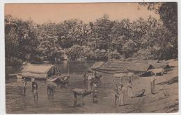 AK - Ceylon (Sri Lanka) Colombo - Baden Im River 1900 - Sri Lanka (Ceylon)