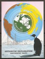 FILATELIA  POLAR - MONGOLIA 1980 - Yvert #H69 - MNH ** - Fauna Antártica
