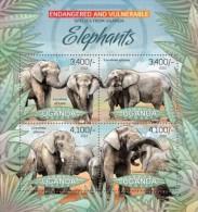 Uganda. 2012 Elephants II. (410a) - Elephants