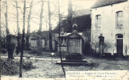 SOIGNIES 1906    ENTREE DU VIEUX CIMETIERE    LAGAERT N° 7 - Soignies