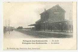 Petegem -bij -Oudenaarde  *   De Statie - La Station - La Gare - Wortegem-Petegem