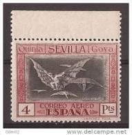 ES527-A279TA.España Spain.Espagne ALEGORIAS DE GOYA  AEREA 1930 (Ed 527**) Sin Charnela  MUY BONITO BORDE DE HOJA - Aéreo