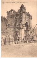 Ruines De L'Abbaye D'Orval-Eglise Notre Dame-1925-Cachet De Margut (Ardennes) Sur Timbre YT211 Arts Décoratifs Paris - Florenville