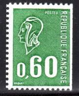 N° 1815a Neuf** (Marianne De Béquet Variété)  COTE= + 10 Euros !!! - 1971-76 Marianne (Béquet)