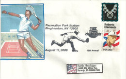 USA. Tennis Challenger. New-York, Enveloppe Souvenir 2006 - Tennis