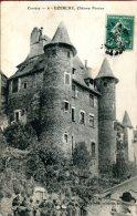 FR-19: UZERCHE: Château Pontier - CPA Animée écrite (1911) En Très Bon état - Uzerche