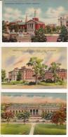 Memorial Hall - Hartford - Connecticut -lot De 3 Cartes -cpa - Hartford