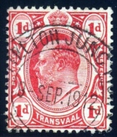 Transvaal 1912. LYTTLETON JUNCTION Postmark Cancel. Railway. Very Scarce. - Südafrika (...-1961)