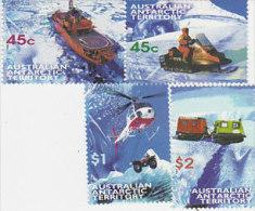 Australian Antarctic Territory 1998 Transport Set MNH - Other