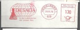 Laboratoire, Matériel, éprouvette, Heidelberg - EMA Francotyp - Fragment 12 X 4,5 Cm   (M381) - Chimica