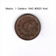 MEXICO    1  CENTAVO  1942   (KM # 415) - Mexico