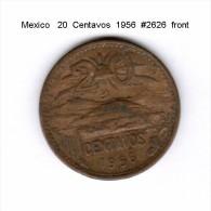 MEXICO    20  CENTAVOS  1956   (KM # 440) - Mexico