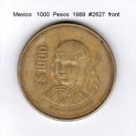 MEXICO    1000  PESOS  1989   (KM # 536) - Mexico