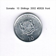 SOMALIA    10  SHILLINGS  2002 - Somalia