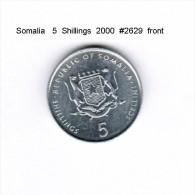 SOMALIA    5  SHILLINGS  2000   (KM # 45) - Somalia