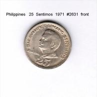 PHILIPPINES    25  SENTIMOS  1971   (KM # 199) - Philippinen
