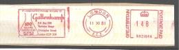 Laboratoire, Matériel, éprouvette, London - EMA Britannique - Etiquette  16 X 3,5 Cm   (M385) - Chimica