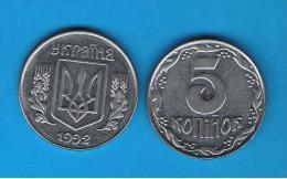UCRANIA - 5 Kopija 1992  KM7a - Ucrania