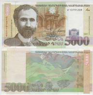 Armenia 5000 Dram 2003  Pick 51 UNC - Arménie