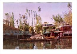Dal Lake, Showing Hotel Green View, Kashmir, India, Asia, 1950-1970s - India