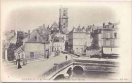 CLAMECY - Le Pont De Beuvron Et L'Eglise Saint-Martin - Clamecy