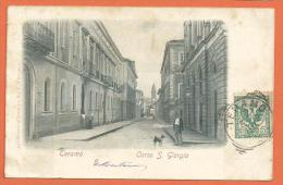 HB410, Teramo, Corso S. Giorgio, 1 Pli, Précurseur, Circulée 1902 - Teramo