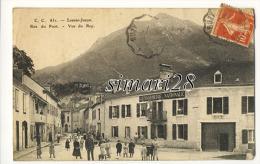 LOUVIE-JUZON - N° 831 - RUE DU PONT - VUE DU REY - (GENDARMERIE) - France