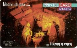 TARJETA DE ESPAÑA DE NAVIDAD  PRINTELCARD NUEVA-MINT  NACIMIENTO  (CHRISTMAS) - Spagna