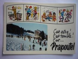 Prapoutel Les 7 Laux ( 38 ) Multivue - Humour De Paproutel - Otros Municipios
