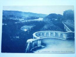 JURANCON  :  Vue prise de la Terrasse des Pyr�n�es