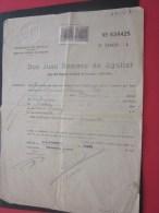 ESPAGNE Ministèrio De Justicia Espana Direcion Général De Prisones Jefe Del Registro Peinados Don Juan Romero De Aguilar - Documentos Históricos