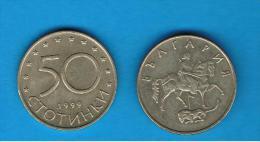 BULGARIA - 50 Stotinki  1999  KM242 - Bulgaria