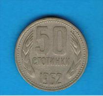 BULGARIA - 50 Stotinki  1962  KM64 - Bulgaria
